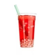 Bubble tea красный