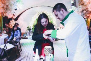 Бармен-шоу на свадьбу