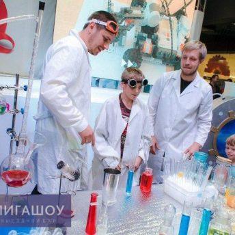 Молекулярный бар для детей в ТРЦ «Волгамолл»