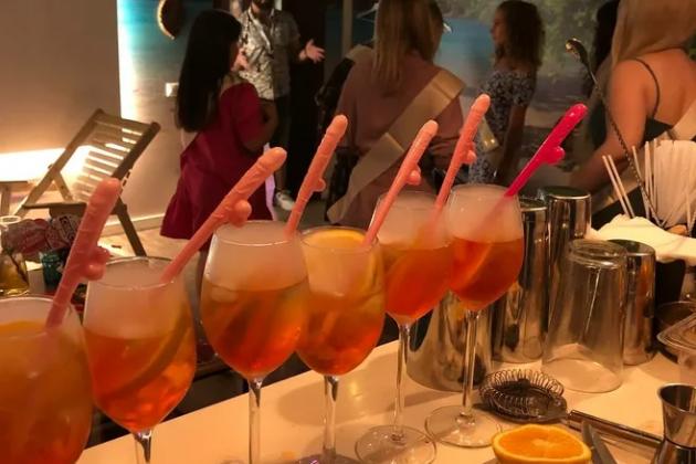 Коктейль-бар на девичник в Party LOFT