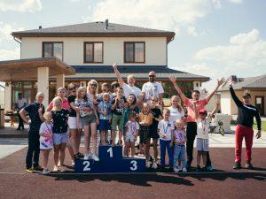 """Детский бар на день рождения в формате """"Олимпийские игры"""""""
